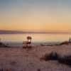 Red Chair. The Salton Sea